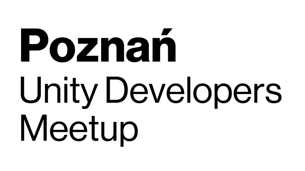 Poznan Unity Developers Meetup Logo